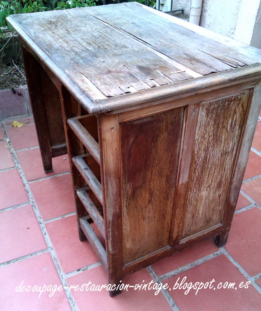 Mueble vintage diy crafts - Tecnicas de restauracion de muebles ...