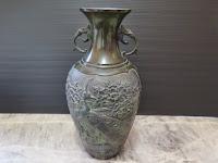 能作吉秀作 銅製 花瓶 買取
