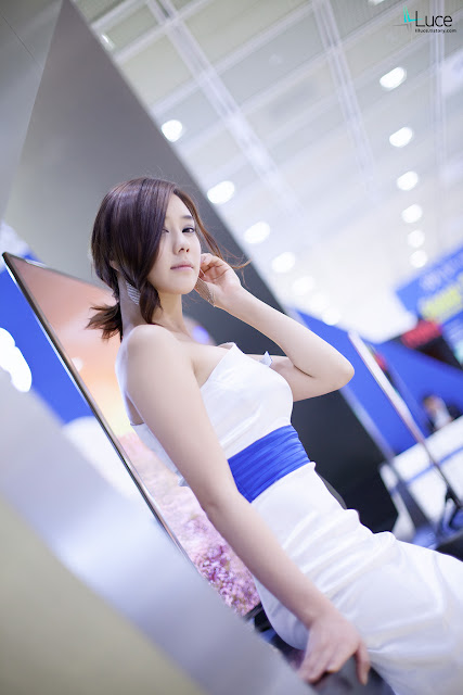 3 Kim Ha Yul - World IT Show 2012-very cute asian girl-girlcute4u.blogspot.com