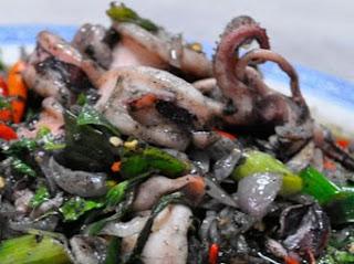 Black Gravy Squid (Cumi Masak Tinta)
