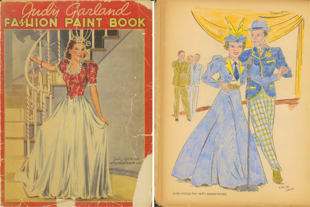 Classic Hollywood Coloring Book