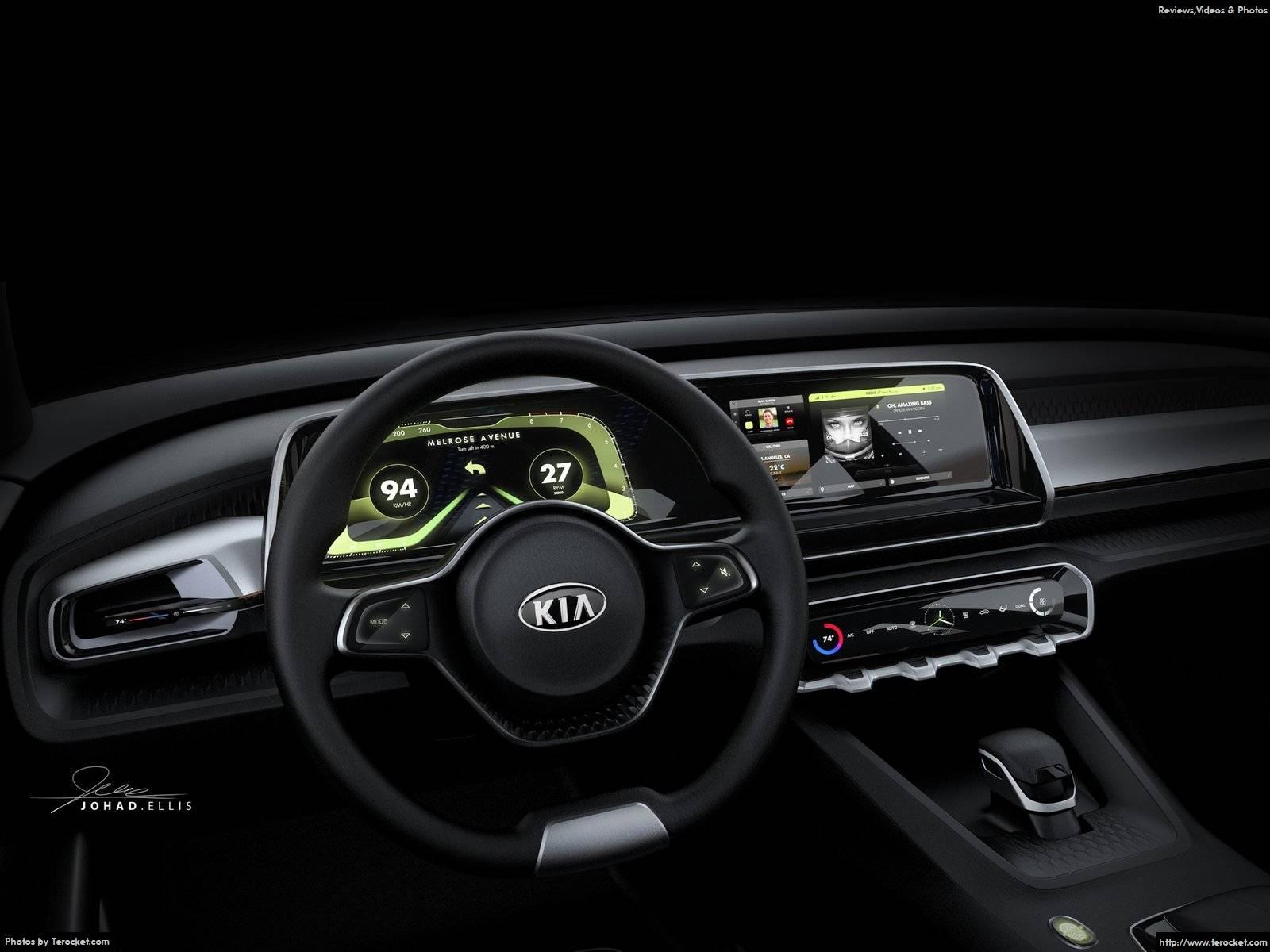 Hình ảnh xe ô tô Kia Telluride Concept 2016 & nội ngoại thất