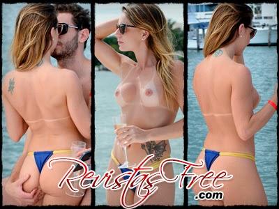 Marianne Ranieri - Topless em Miami