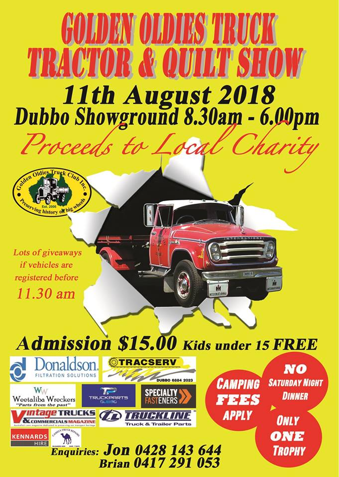 Golden Oldies Truck and Tractor Show