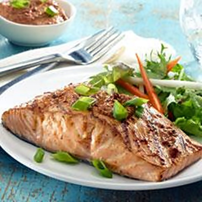 Ancho Honey Glazed Salmon