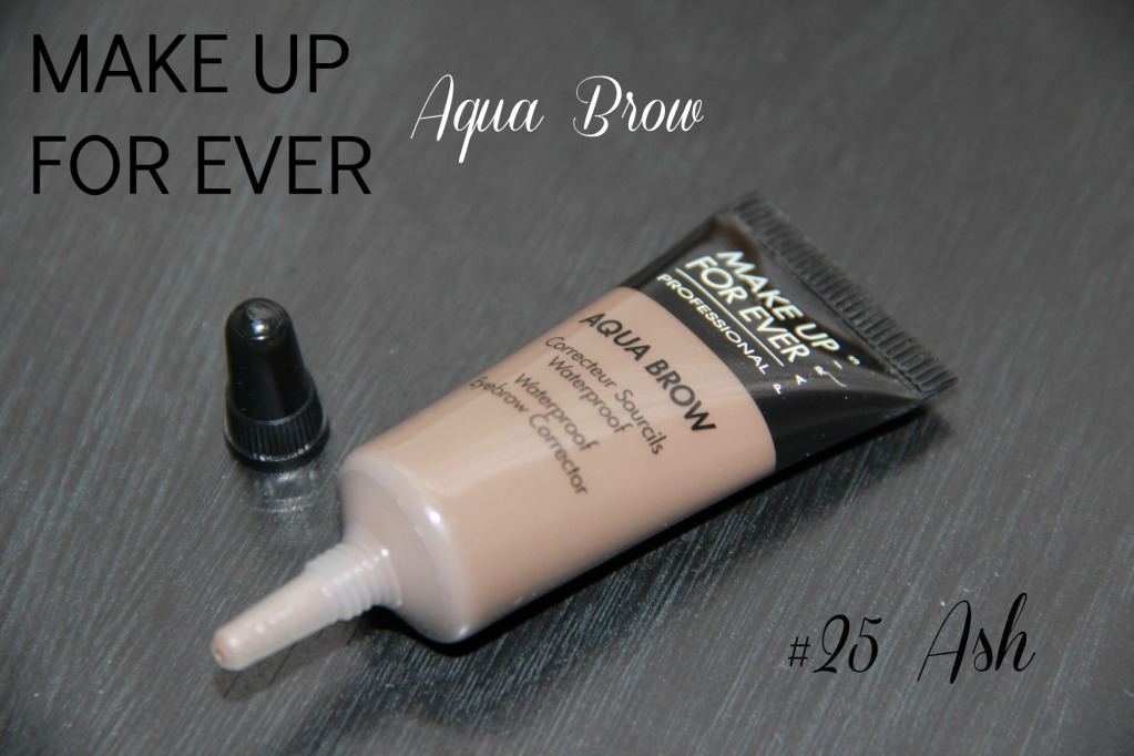 Review Makeup Forever Aqua Brow In 25 Ash Kailan Marie A