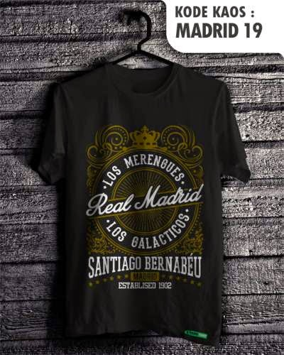 kaos bola real madrid