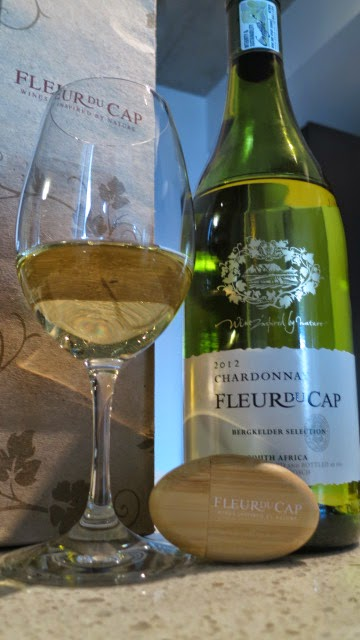 Wine Review of 2012 Fleur du Cap Chardonnay from WO Western Cape, South Africa