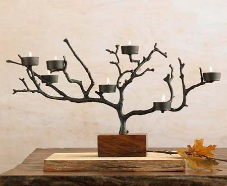 Econotas.com: 10 ideas para reciclar ramas de Árbol, muebles y ...