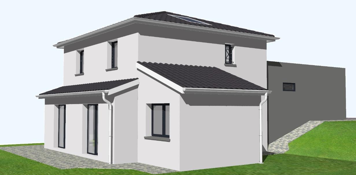 Tradimaisons le blog officiel avant projets de - Plan maison 2 niveaux ...
