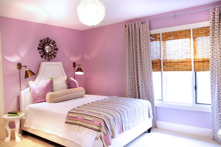 Bedroom Colors Lilac room decorations for girls in lilac color | luck interior