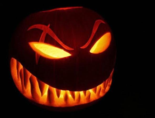 C mo hacer una calabaza de halloween mini halloween - Calabazas de halloween de miedo ...