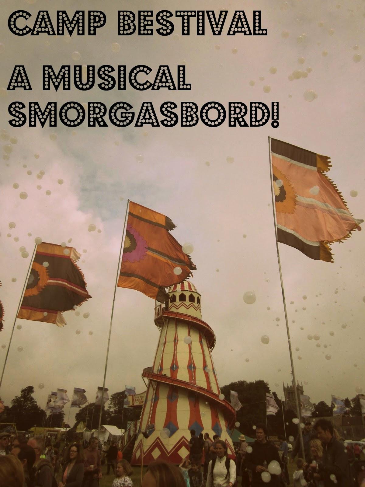 Camp Bestival 2015 - A musical smorgasbord // 76sunflowers
