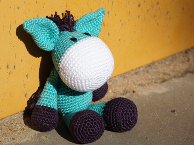 Crochet & Knitting Stitch: Esel Jojo