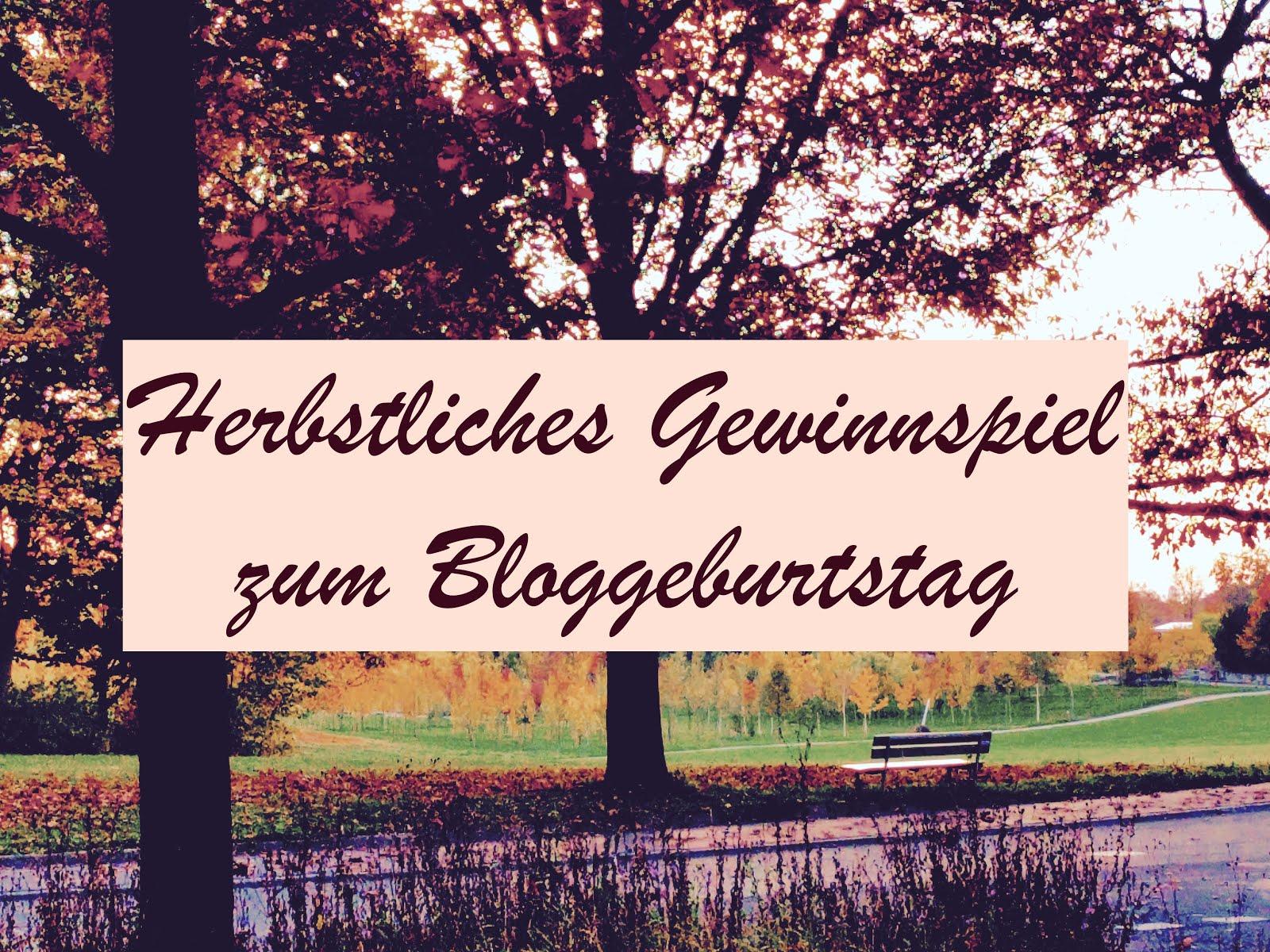 Gewinnspiel zum Bloggeburtstag