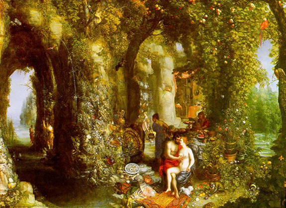 odysseus calypso brueghel