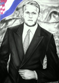 ROBERT PROSINECKI Portrait Drawing Soccer Football Khaled3Ken Gallery