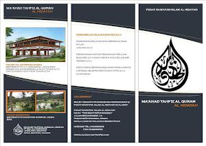 Brochure Maahad Tahfiz Al Hidayah