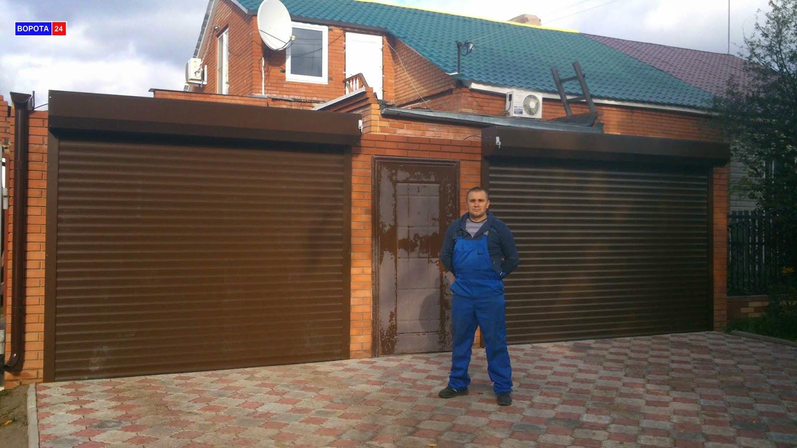 роллетные ворота в гараж рассчет стоимость