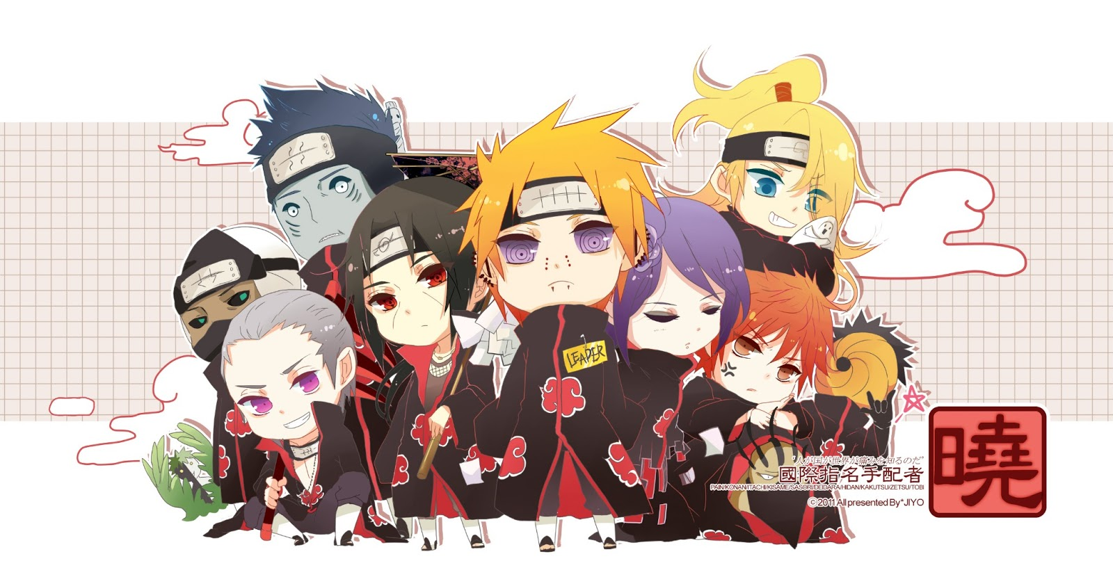 Akatsuki Member Chibi | Your daily Anime Wallpaper and Fan Art