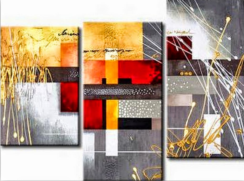 Im genes arte pinturas cuadros modernos y coloridos pintados al leo para dormitorios - Imagenes para cuadros ...