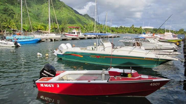 Marina à Tahiti