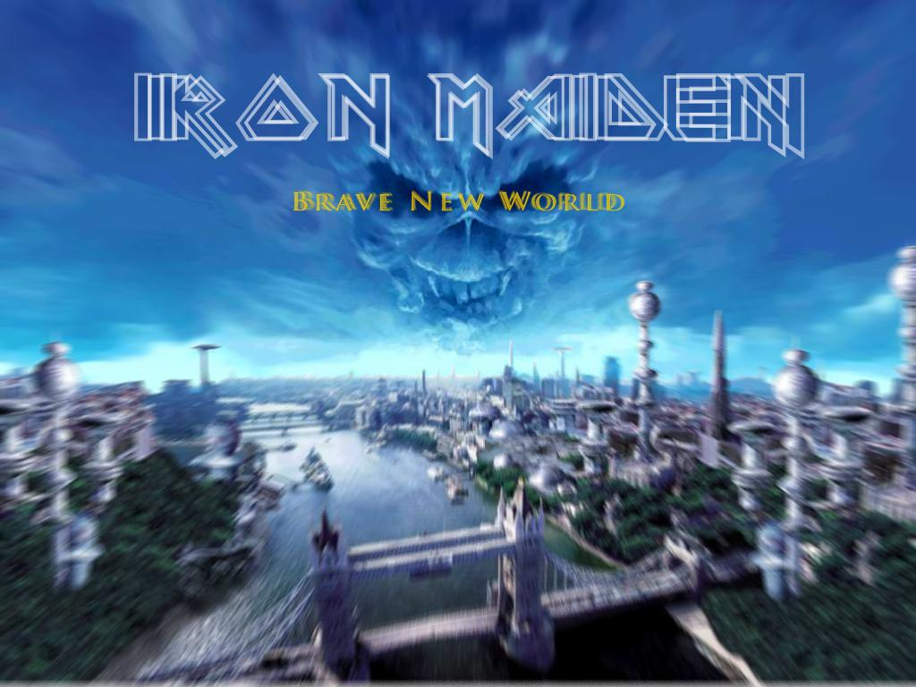 Iron Maiden wallpaper brave new world