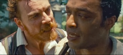 Michael Fassbender, Chiwetel Ejifor, 12 YEARS A SLAVE