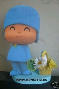 Pocoyo Decoration for Children Parties, centerpieces