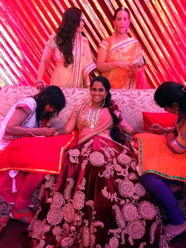 Arpita Khan and Ayush Sharma Wedding Images