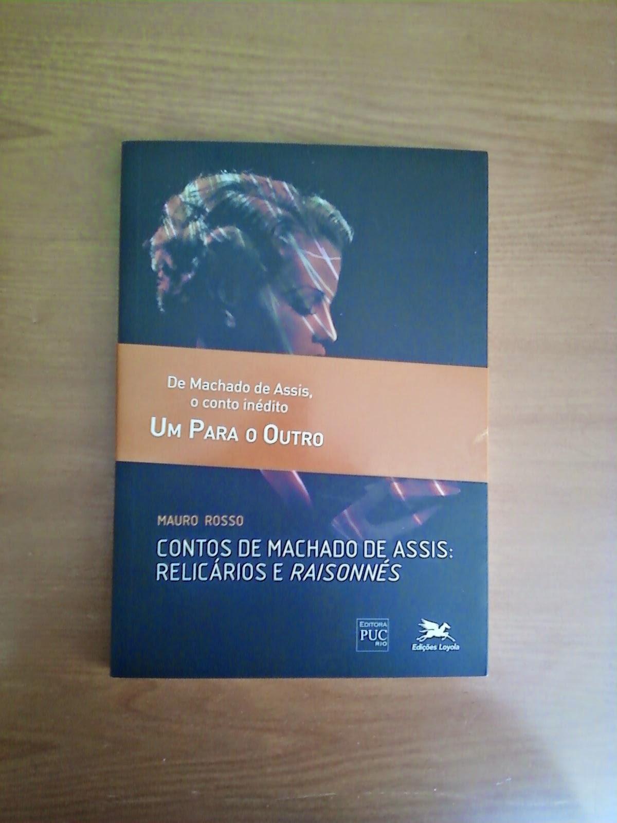 Contos de Machado de Assis: relicários e raisonnés