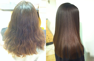 Hair Wash Keratin After Straightening First Reconditioning Hermal Yuko T Japanese Suoristus