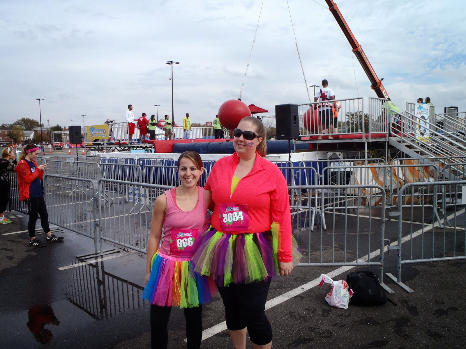 Ridiculous obstacle race tutu