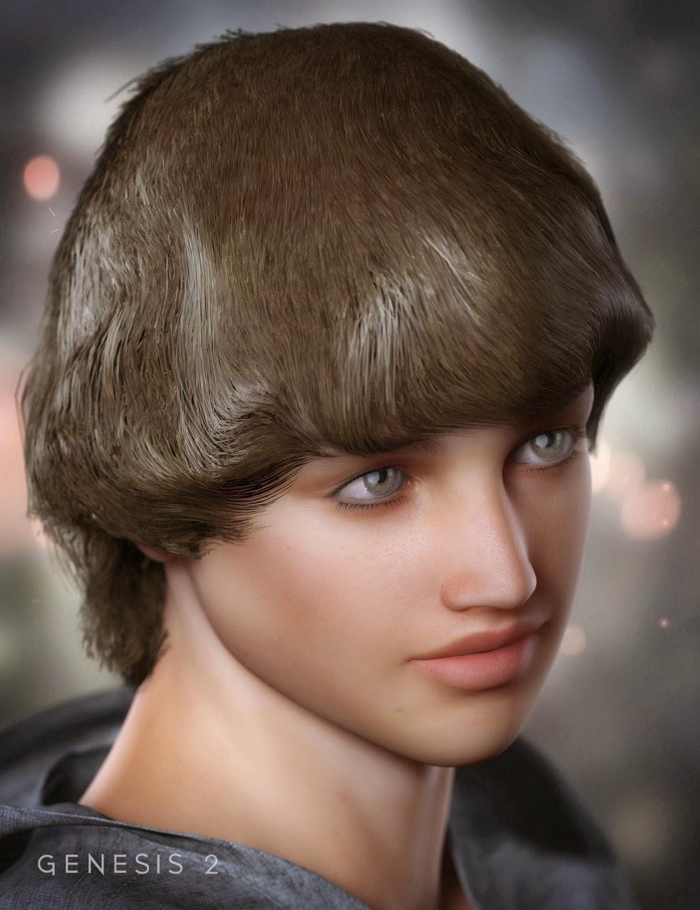 Andrew flip cheveux pour Genesis 2 Homme