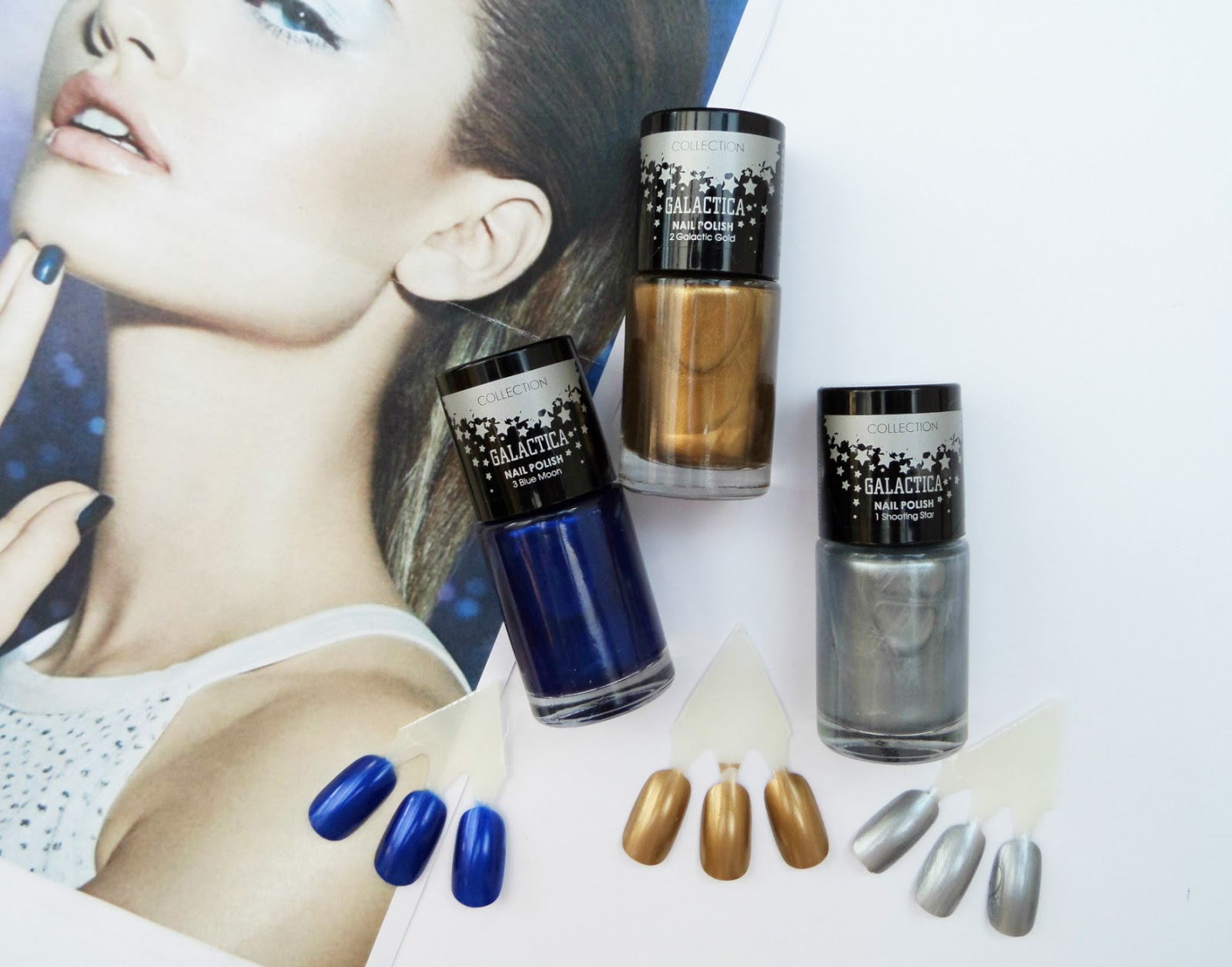 Collection Cosmetics Galactica Range Nail Polishes