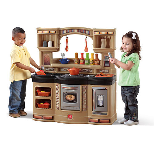 step2 prepare and share play kitchen review - go grow go!