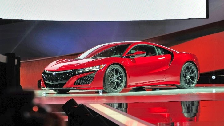 2016 Acura NSX  Machine