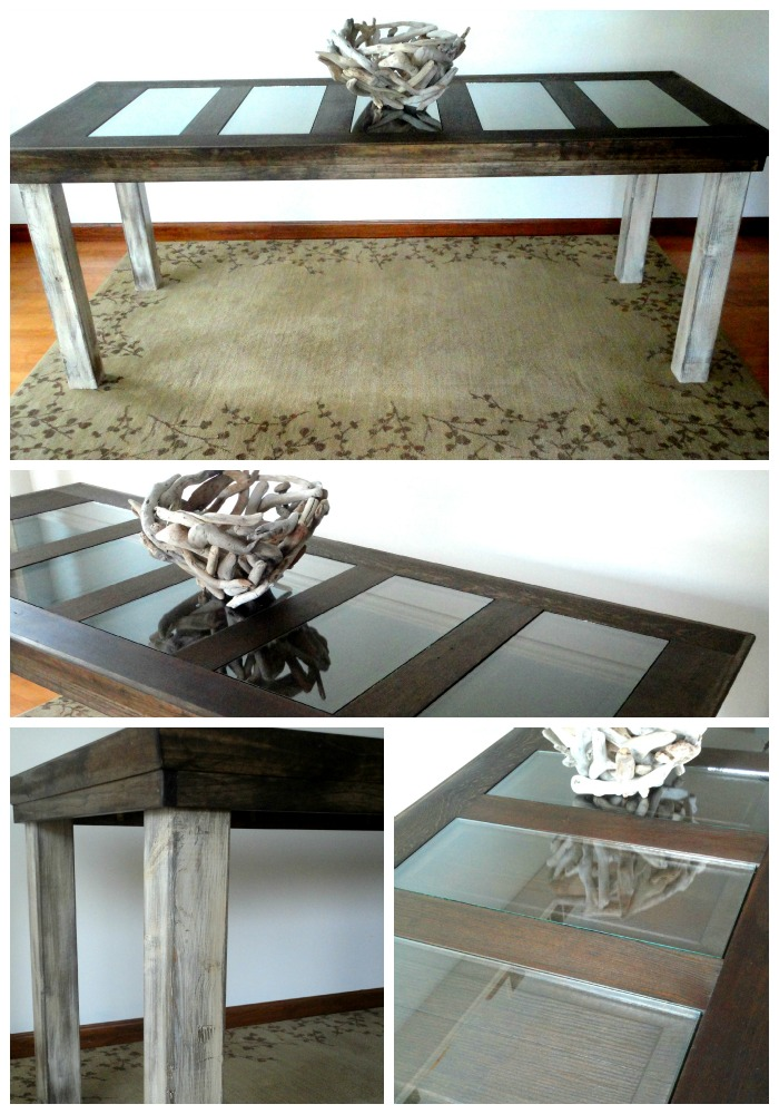 behind the red door farmhouse style dining room table