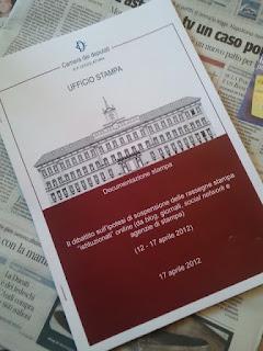 Offline la rassegna stampa di camera e senato il bo live for Camera deputati rassegna stampa
