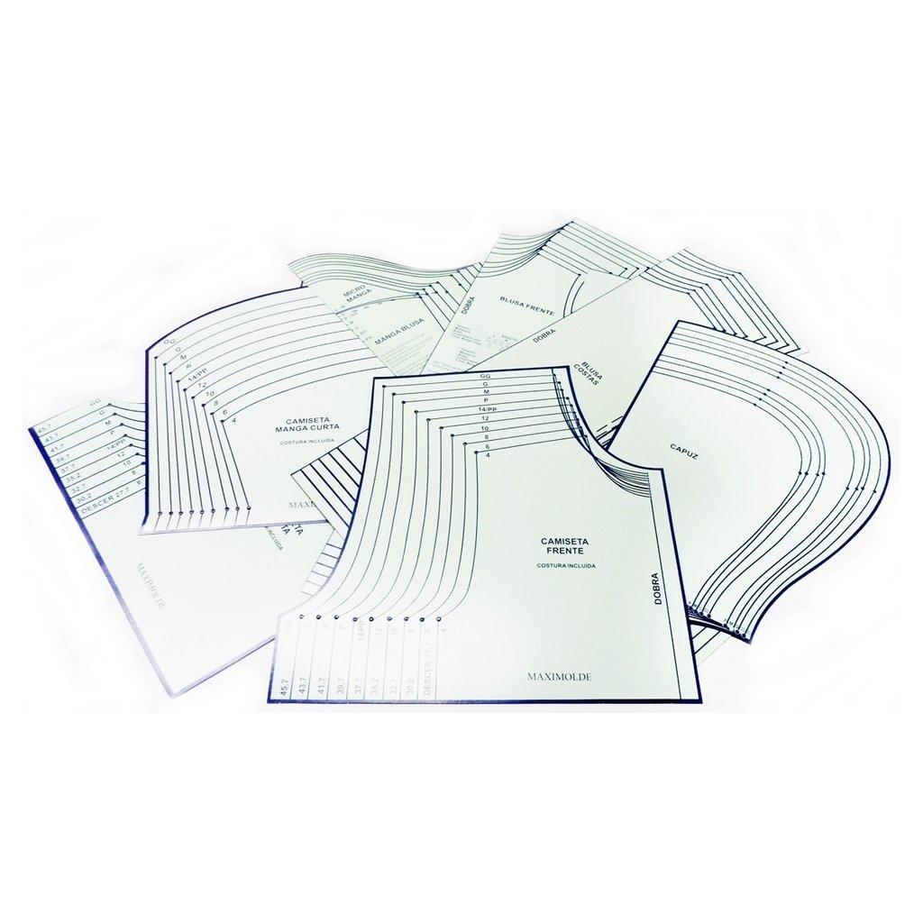 200 MOLDES DE COSTURA IMPRIMÍVEIS EM PDF