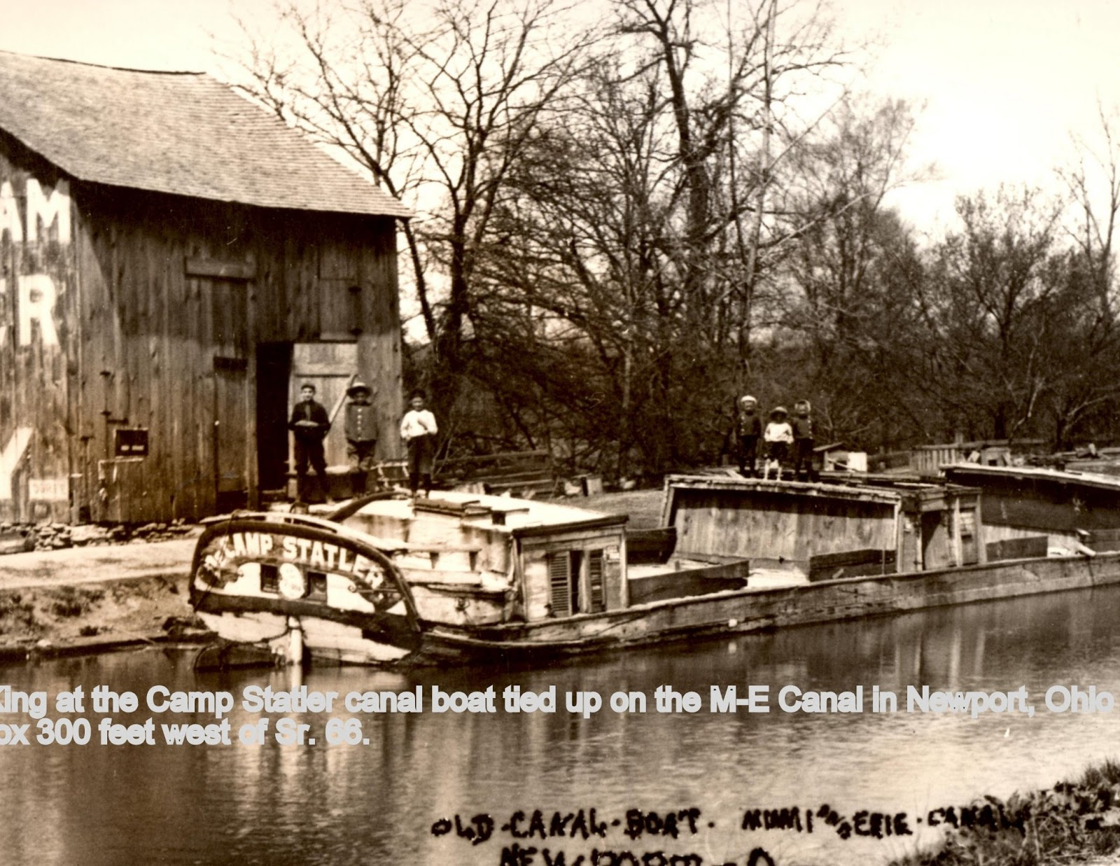 history of the erie canal Students in professor thomas fleischman's class didn't write a research paper at the end of their class about the environmental history of the erie canal.