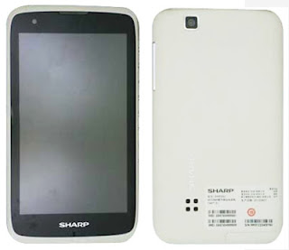 Sharp phablet with dual sim
