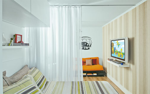 espa os pequenos apartamento de 30m2 casa com moda