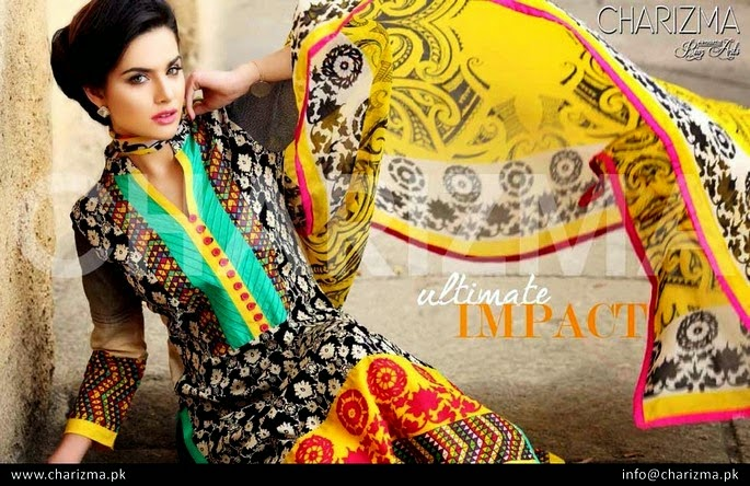 Colorful Summer Dresses Lawn Kameez