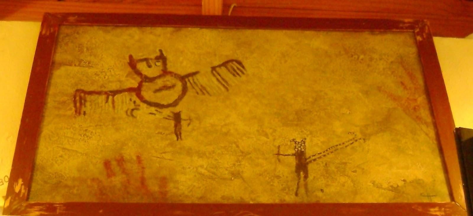 Fascin arte galeria de arte y decoraci n cuadros rupestre - Arte y decoracion ...