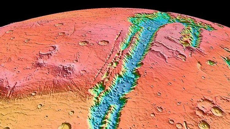 Diseñan un modelo que calcula la radiación solar en Marte