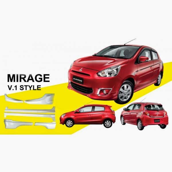 Body Kit Mitsubishi Mirage Ralli Art