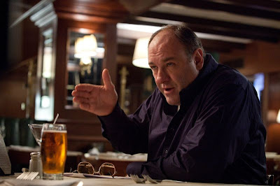 James Gandolfini as Mickey Killing, Restaurant Scene with Jackie Cogan, Killing Them Softly, Directed by Andrew Dominik