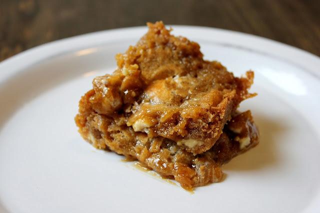 Butterscotch Marshmallow Blondies by freshfromthe.com