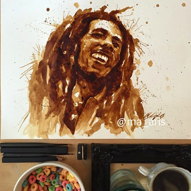 18-Bob-Marley-Maria-A-Aristidou-Pop-Culture-Painted-with-Coffee-www-designstack-co